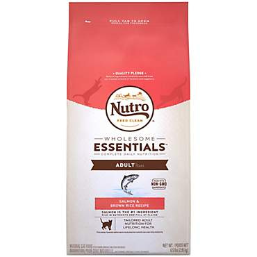 Nutro Wholesome Essentials Salmon & Brown Rice Recipe Dry Adult Cat Food
