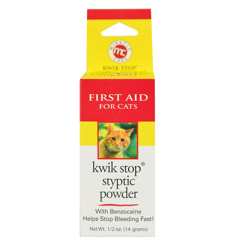 Kwik Stop Styptic Powder For Cats, .5 Oz