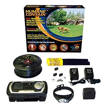 High Tech Pet Humane Contain X-10 Multi-Function In Ground Pet Fencing System