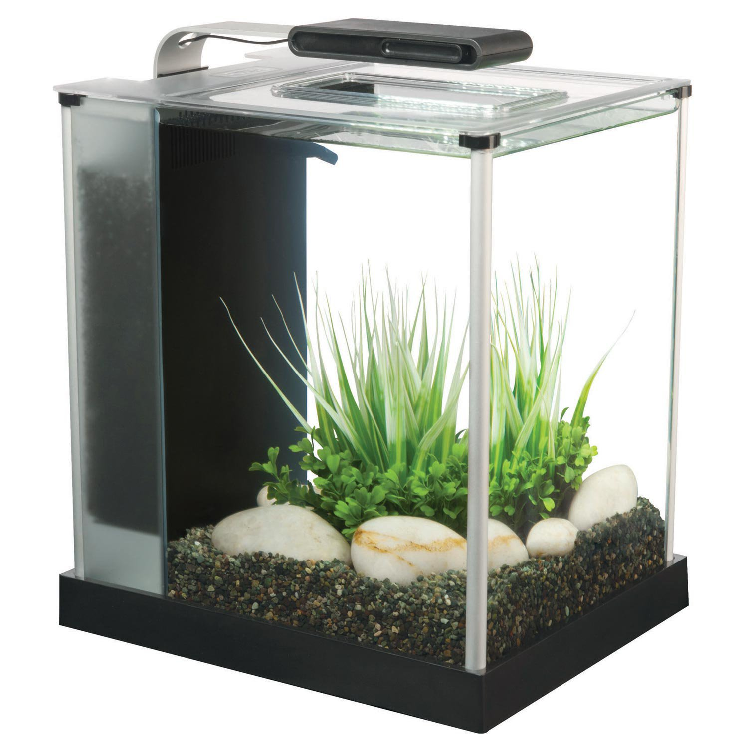 All glass aquarium fish tank - Fluval Spec Iii Aquarium Kit In Black