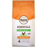 NUTRO WHOLESOME ESSENTIALS Hairball Control Farm-Raised Chicken & Brown Rice Recipe Dry Adult Cat Food