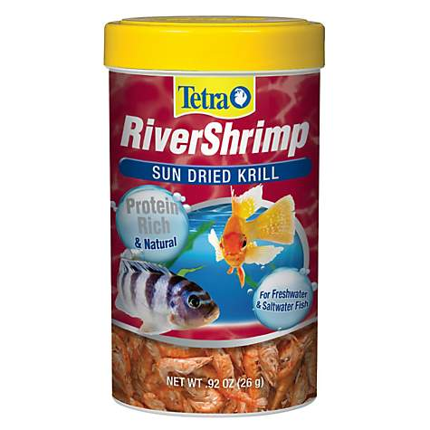 Tetra River Shrimp Fish Food Treat | Petco