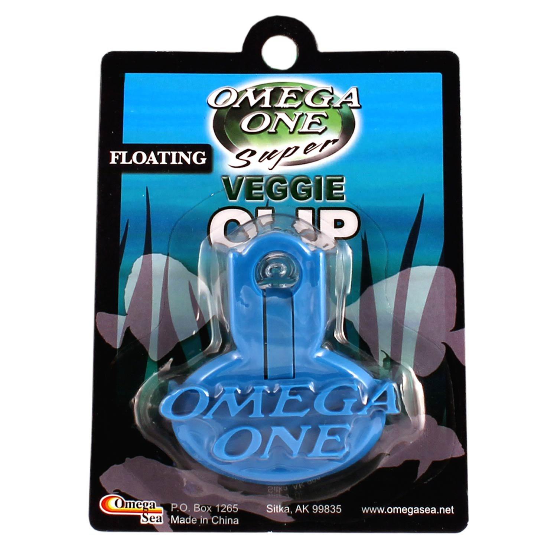 Fish tank feeder - Omega One Super Veggie Seaweed Clip