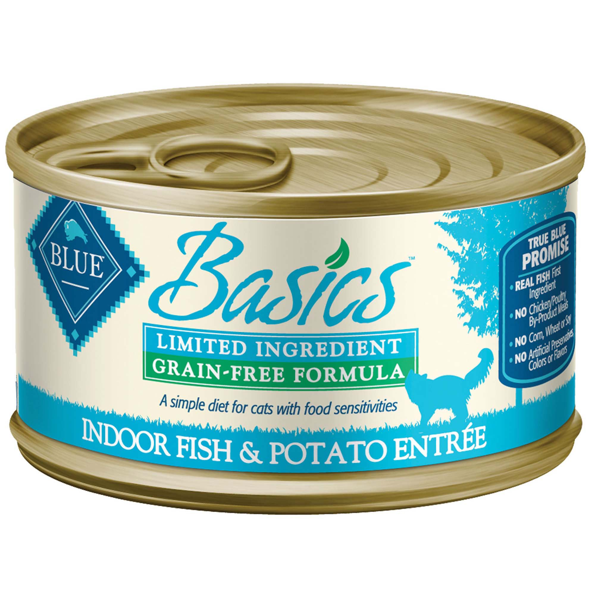 Blue Buffalo Blue Basics Adult Grain Free Fish And Potato