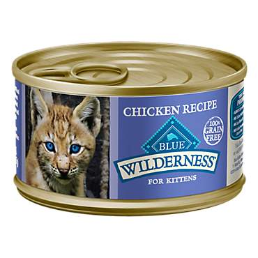 Blue Buffalo Blue Wilderness Kitten Chicken Recipe Wet Cat Food
