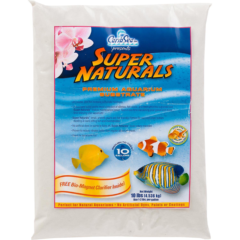 Fish tank gravel - Caribsea Super Naturals Aquarium Sand