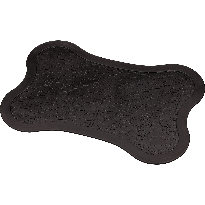 Image of Bowlmates Black Bone Placemat, X-Small/Small