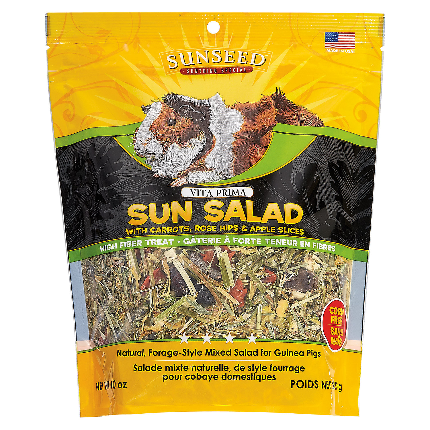 Vitakraft Vita Prima Sun Salad Treat For Guinea Pigs