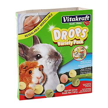 Vitakraft Drops Variety Pack Rabbit & Guinea Pig Treat