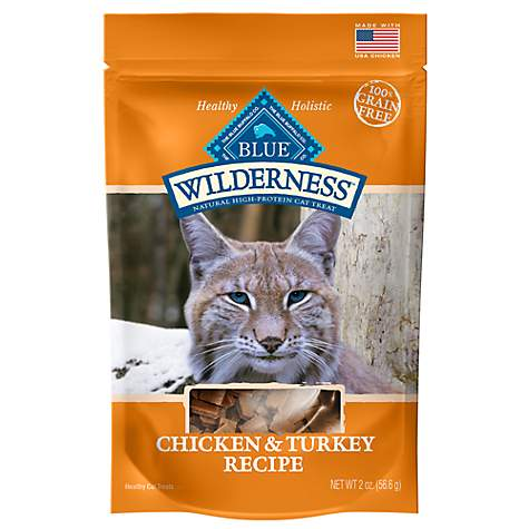 Blue Buffalo Blue Wilderness Chicken & Turkey Cat Treats