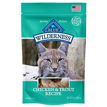 Blue Buffalo Blue Wilderness Chicken & Trout Cat Treats