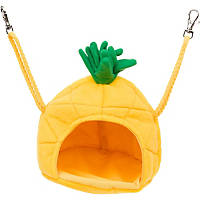 Multipet Pineapple House Small Animal Hideaway in Yellow