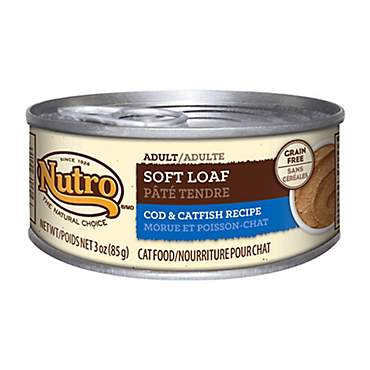 Nutro Wholesome Essentials Cod and Catfish Recipe Soft Loaf Canned Adult Wet Cat Food