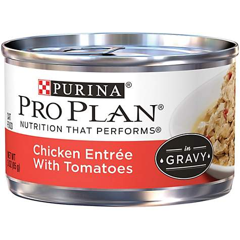 Pro Plan Savor Adult Canned Cat Food, Chicken & Tomato
