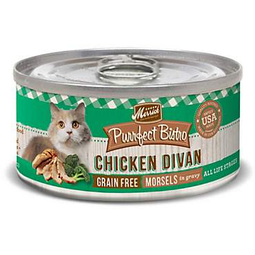 Merrick Purrfect Bistro Grain Free Chicken Divan Wet Cat Food