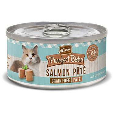 Merrick Purrfect Bistro Grain Free Salmon Pate Wet Cat Food