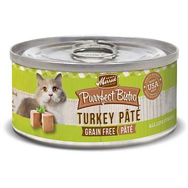 Merrick Purrfect Bistro Grain Free Turkey Pate Wet Cat Food