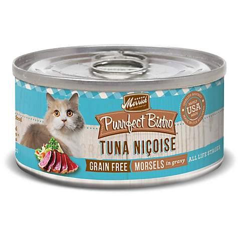 Merrick Purrfect Bistro Grain Free Tuna Nicoise Wet Cat