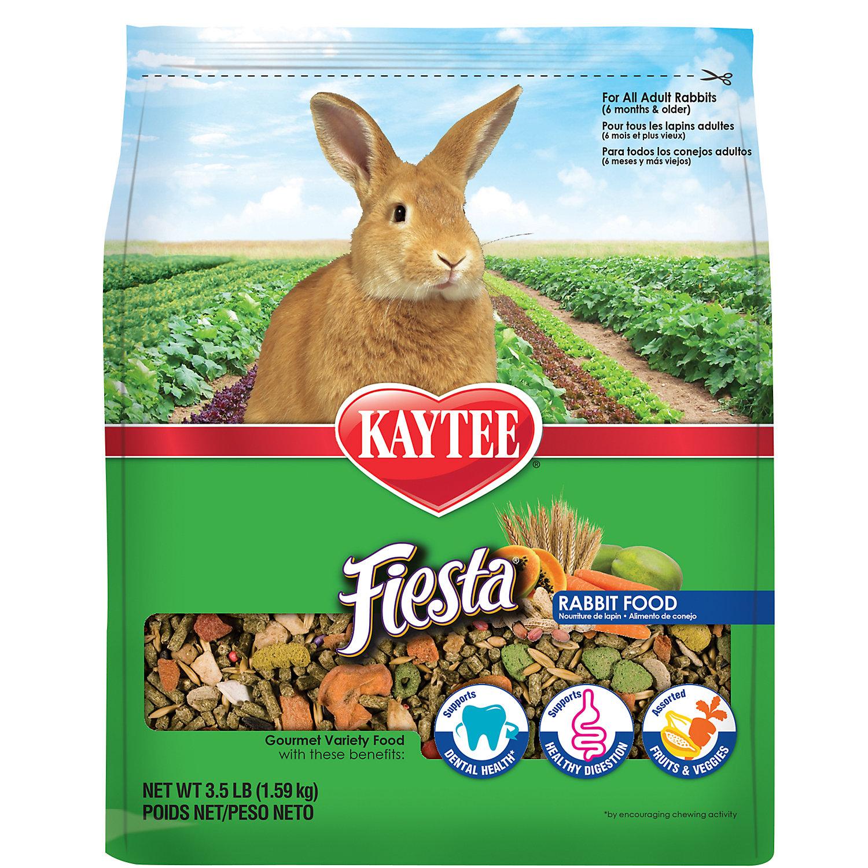 Kaytee Fiesta Max Food For Rabbits 3.5 Lbs.