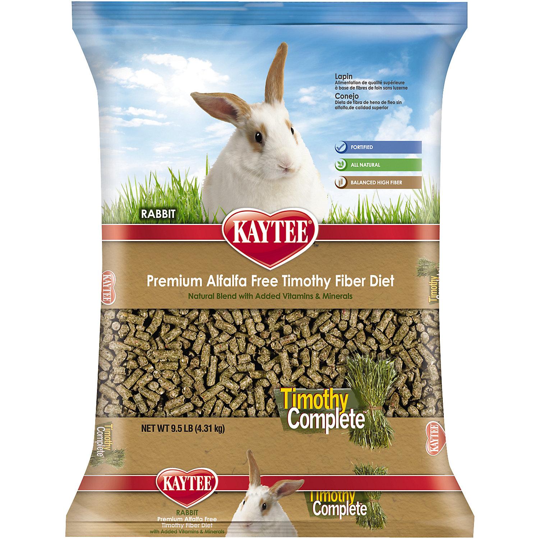 Kaytee Timothy Complete Rabbit Food 9.5 Lbs.