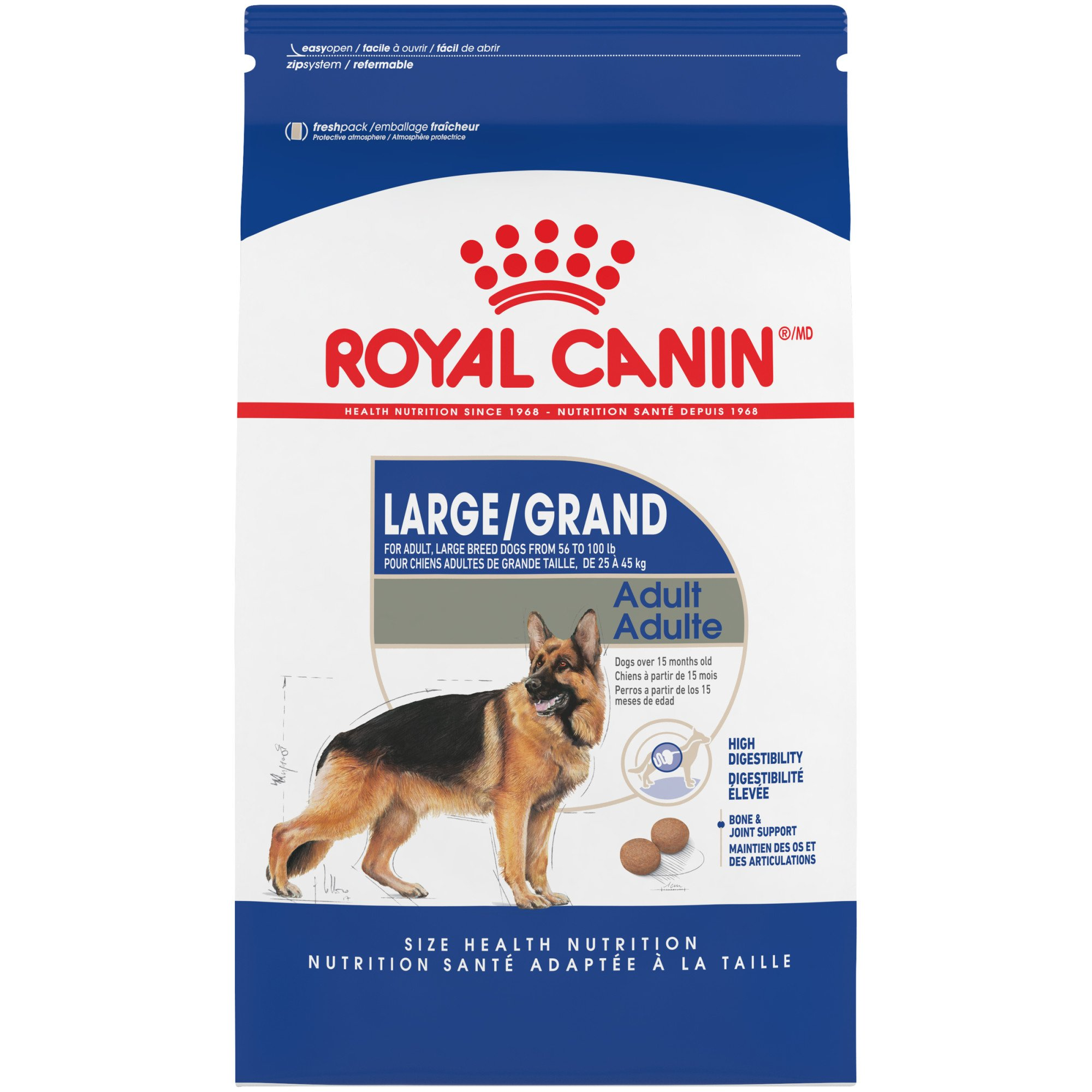 royal canin size health nutrition maxi adult dry dog food petco. Black Bedroom Furniture Sets. Home Design Ideas