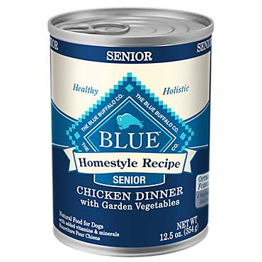 Blue Buffalo Blue Homestyle Recipe Senior Chicken Dinner With Garden Vegetables Wet Dog Food
