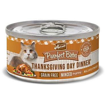 Merrick Purrfect Bistro Grain Free Thanksgiving Day Dinner Wet Cat Food