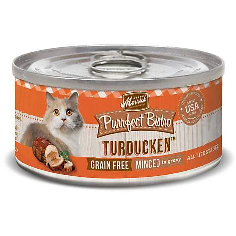 Merrick Purrfect Bistro Grain Free Turducken Wet Cat Food