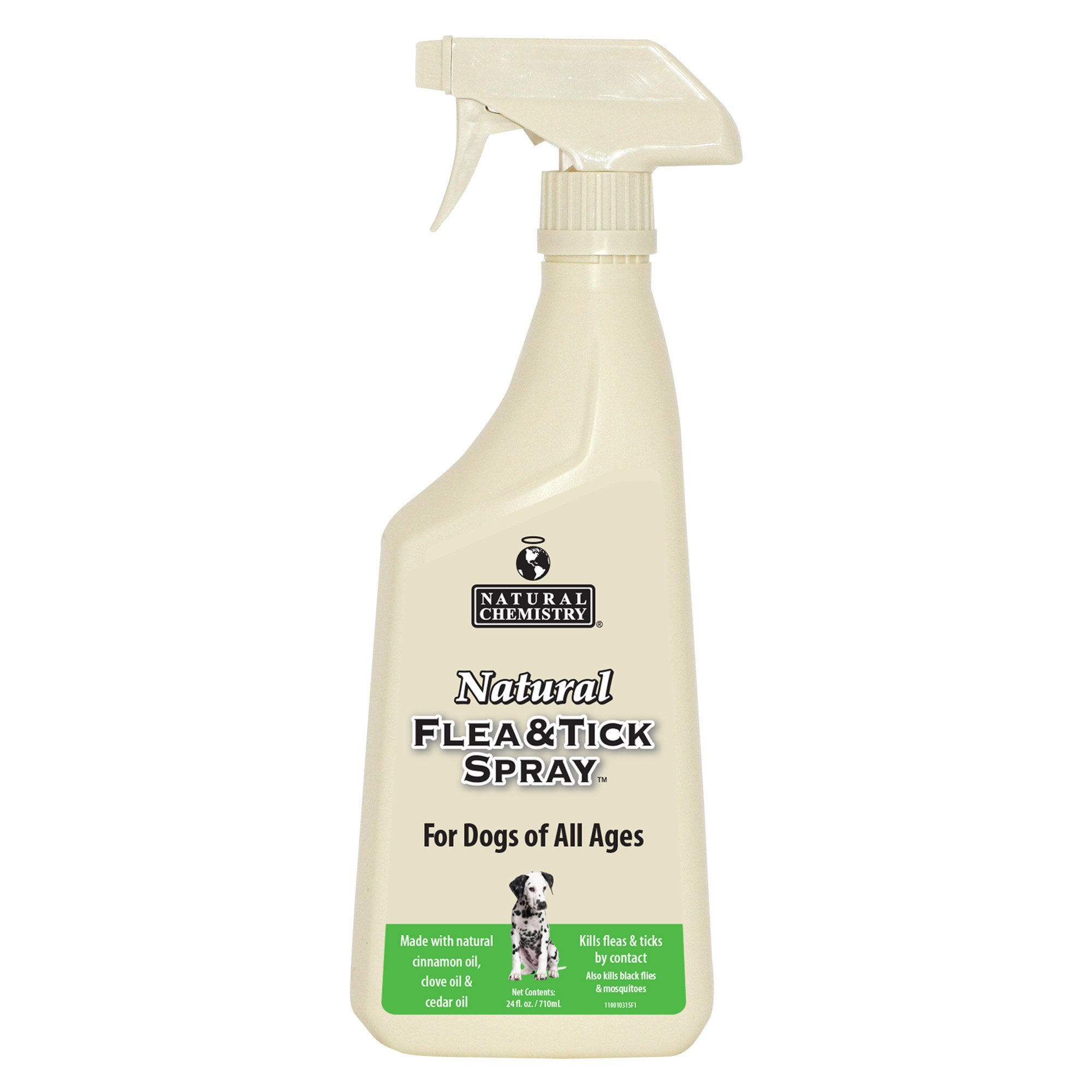 Image of Natural Chemistry Dog Flea & Tick Spray, 16 fl. Oz., 16 FZ