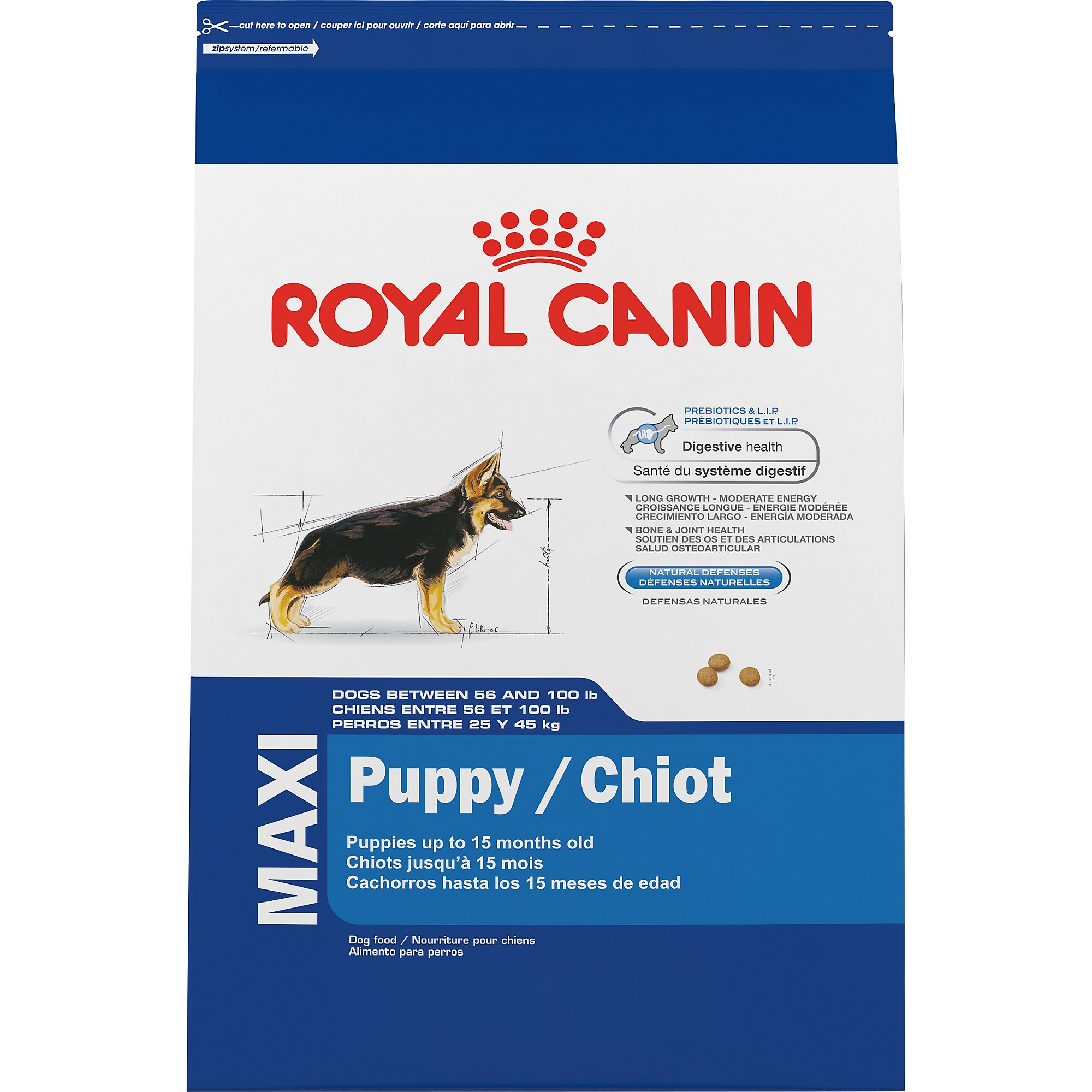 royal canin size health nutrition maxi puppy dry dog food petco. Black Bedroom Furniture Sets. Home Design Ideas