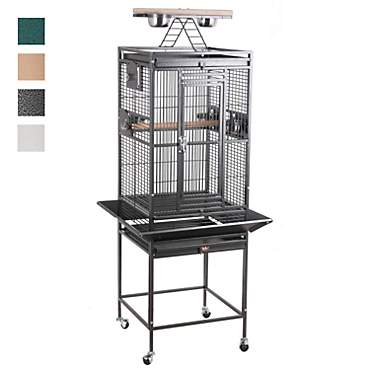 HQ Play Top Bird Cage in Platinum