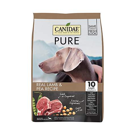 canidae grain free pure elements with fresh lamb dry dog food petco
