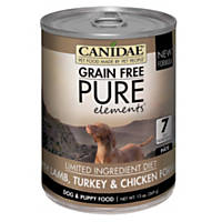 CANIDAE Grain Free PURE Elements Adult with Lamb, Turkey & Chicken Wet Dog Food