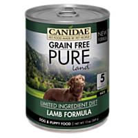 CANIDAE Grain Free PURE Land Adult Lamb Formula Wet Dog Food