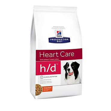 Hill's Prescription Diet h/d Heart Care Chicken Flavor Dry Dog Food