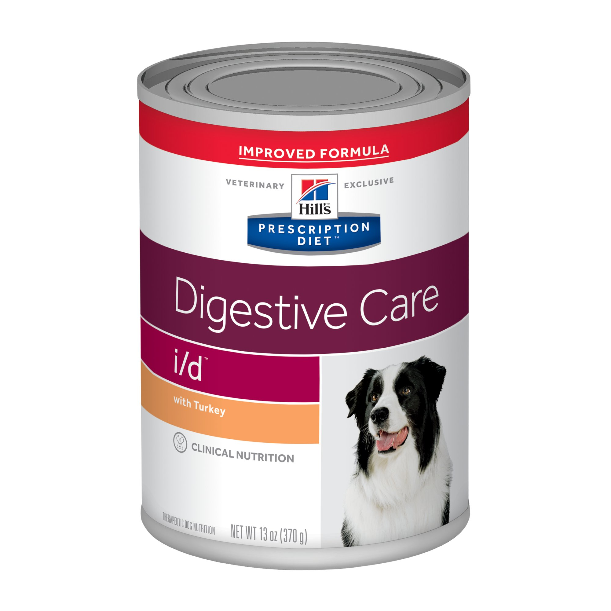 Prescription Dog Food >> Hill S Prescription Diet I D Digestive Care With Turkey Canned Dog