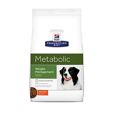Hill's Prescription Diet Metabolic Weight Management Chicken Flavor Dry Dog Food