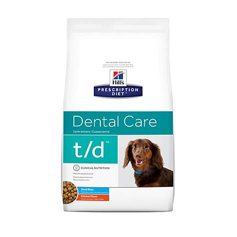 Hill's Prescription Diet t/d Dental Care Small Bites Chicken Flavor Dry Dog Food