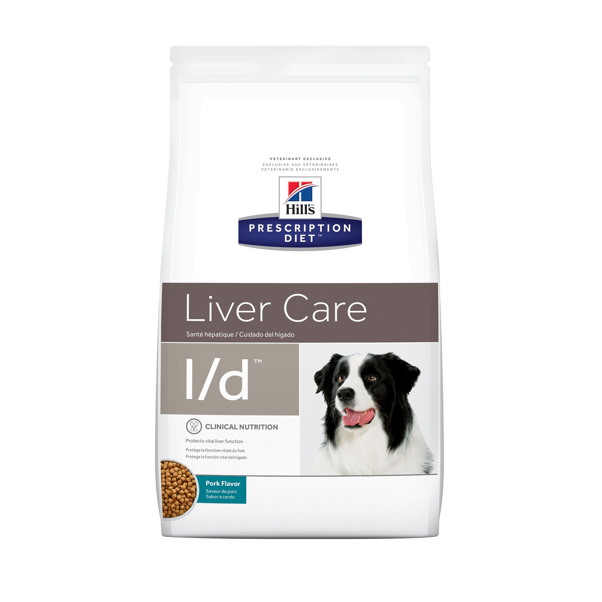 Image result for Hill's Prescription Diet l/d Liver Care Pork Flavor Dry Dog Food