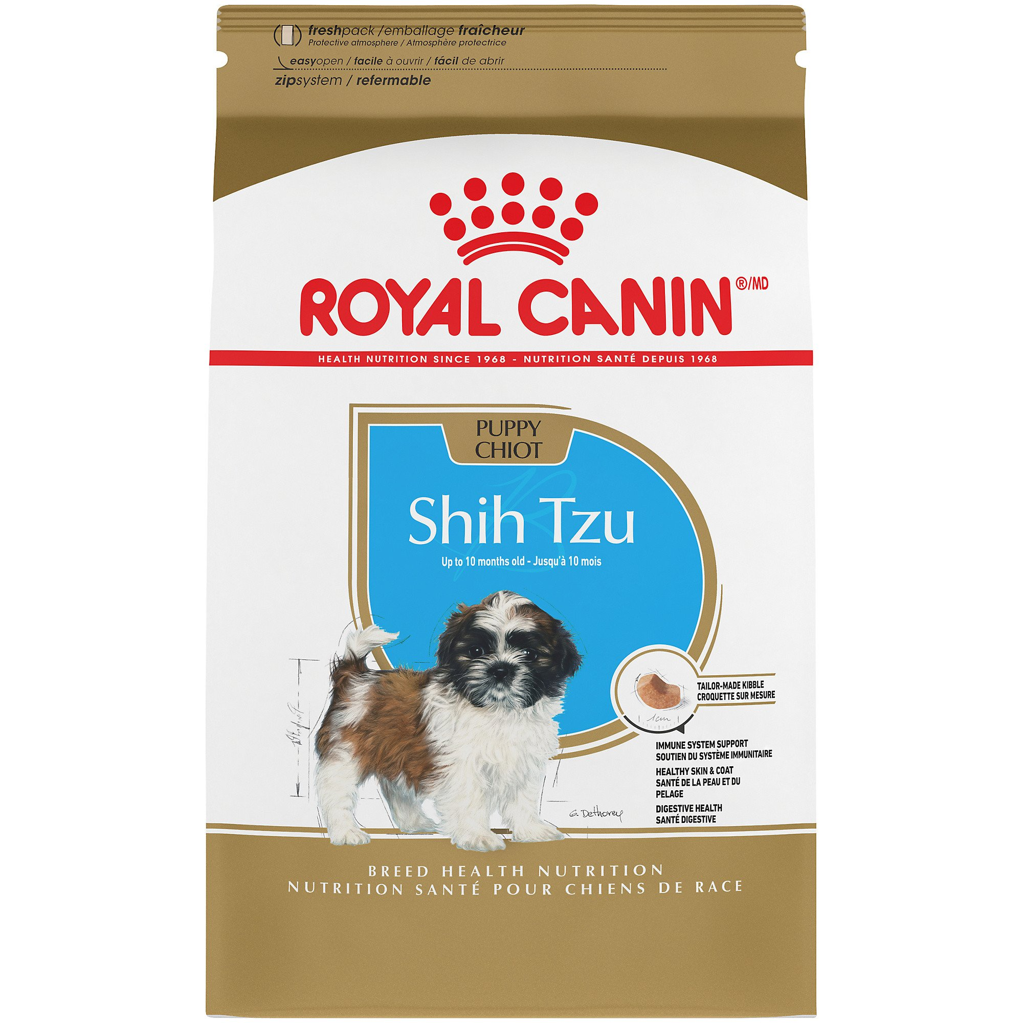 Royal Canin Breed Health Nutrition Shih Tzu Puppy Dry Dog Food | Petco