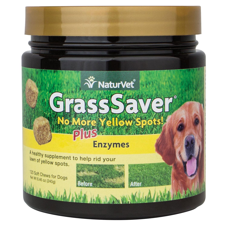 Naturvet Grasssaver Soft Dog Chews 120 Chews 8.4 Oz.