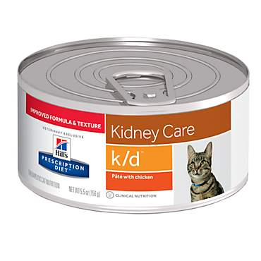 Hill's Prescription Diet k/d Kidney Care with Chicken Canned Cat Food