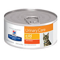 Hill's Prescription Diet c/d Multicare Urinary Care with Chicken Canned Cat Food