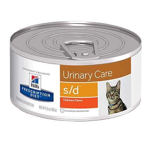 Hill's Prescription Diet s/d Urinary Care Chicken Flavor Canned Cat Food