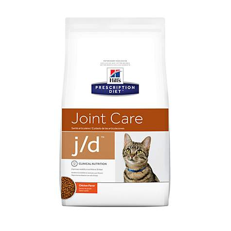 Hill's Prescription Diet j/d Joint Care Chicken Flavor Dry Cat Food