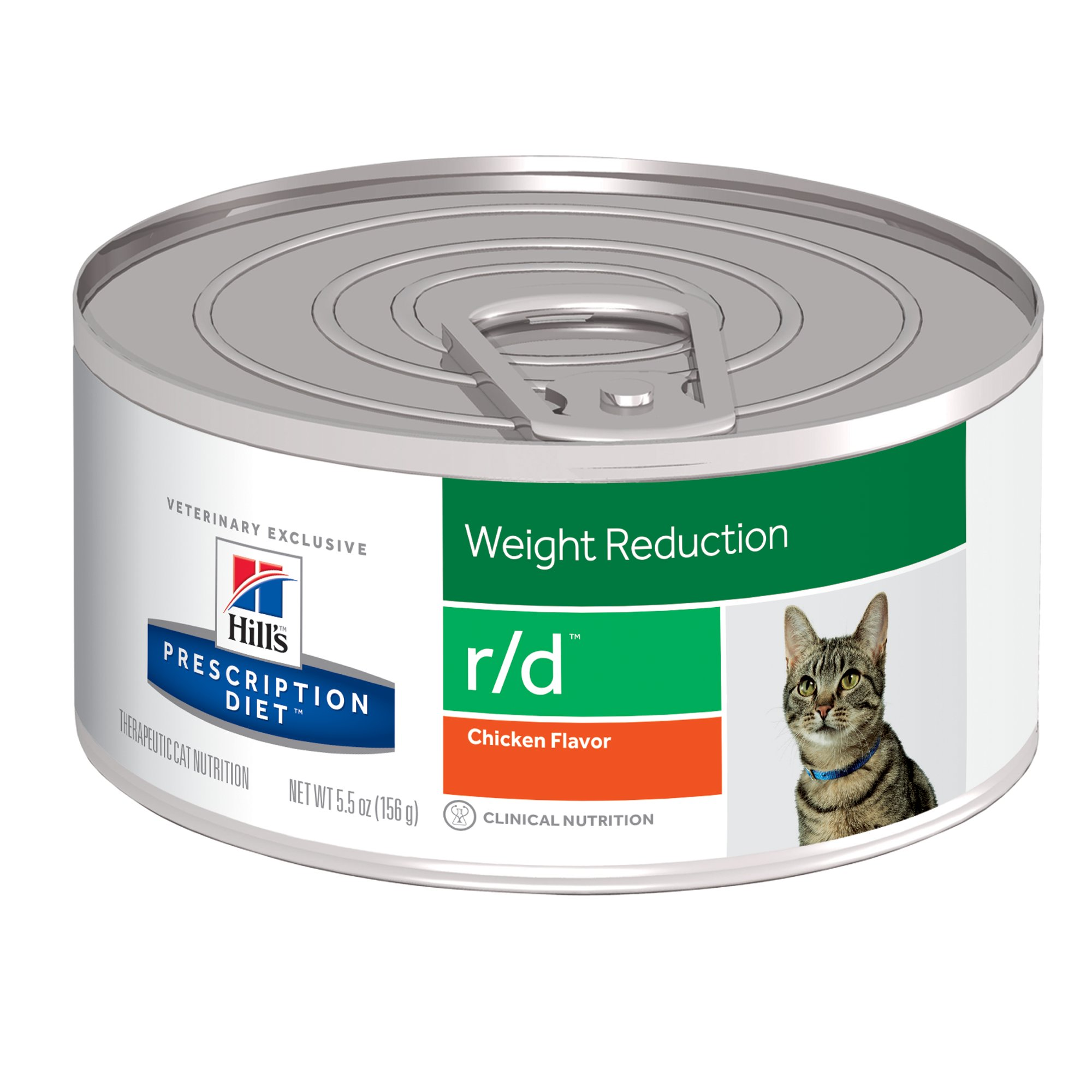 Weight Reduction Cat Food Canned
