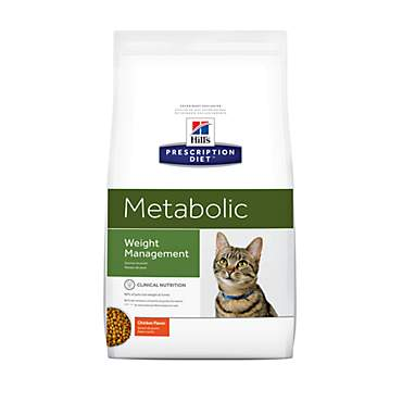 Hill's Prescription Diet Metabolic Weight Management Chicken Flavor Dry Cat Food