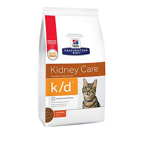 Hill's Prescription Diet k/d Kidney Care with Chicken Dry Cat Food