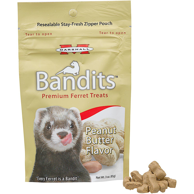 Marshall Pet Products Bandits Premium Peanut Butter Ferret Treats   Petco at Petco in Braselton, GA   Tuggl