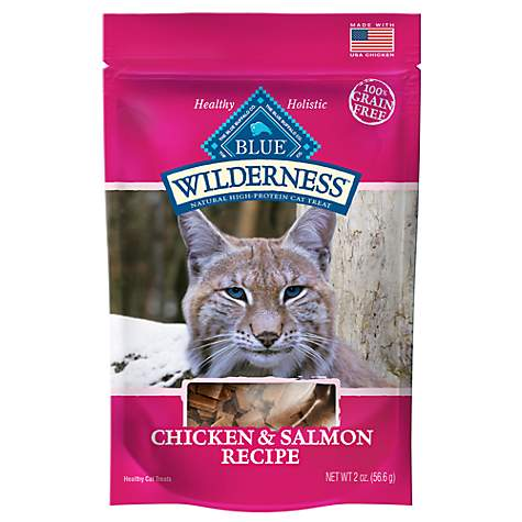 Blue Buffalo Blue Wilderness Chicken & Salmon Cat Treats